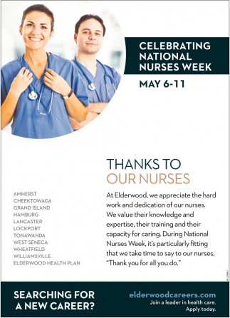 Celebrating National Nurses Week