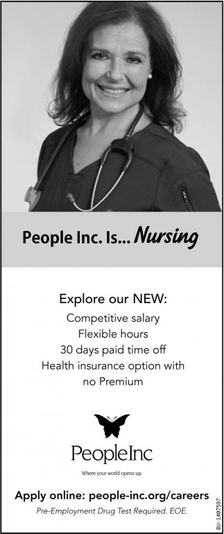 People Inc. Is... Nursing