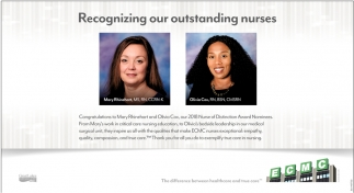 Recognizing Our Outstanding Nurses