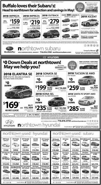 $0 Down Deals At Northtown!