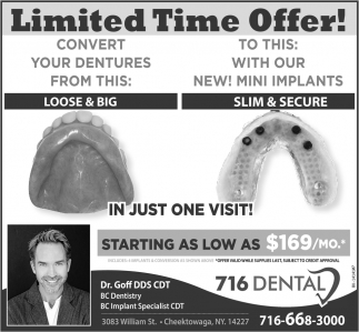 Limited Time Offer!