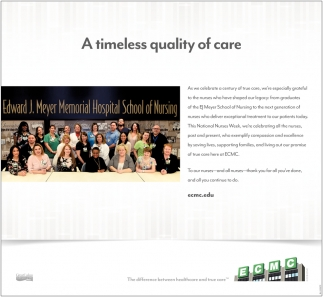 A Timeless Quality Of Care