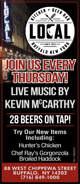 Join Us Every Thursday!