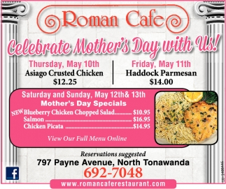 Celebrate Mother's Day With Us!