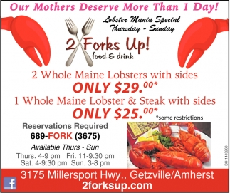 Lobster Mania Special
