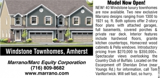 Windstone Townhomes, Amherst
