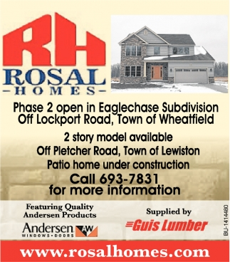 2 Story Model Available