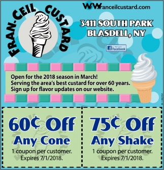 60c Off Any Cone