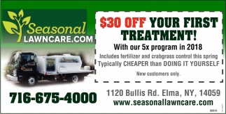 $30 OFF Your First Treatment!