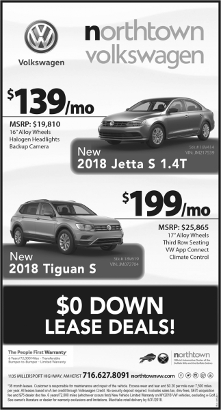 $0 Down Lease Deals!