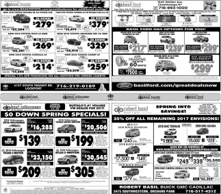 $0 Lease Spring Specials