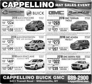 May Sales Event