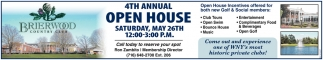 4th Annual Open House