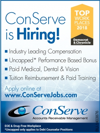 ConServe Is Hiring!