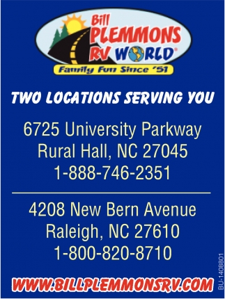 Two Locations Serving You!