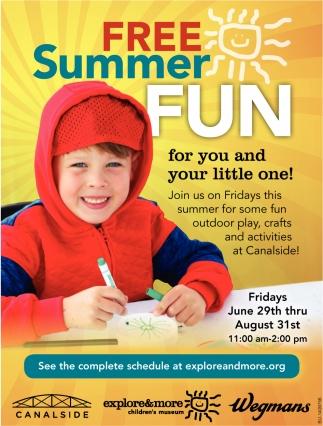 Free Summer Fun