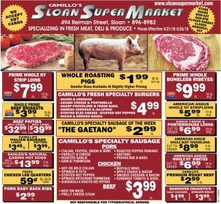 Specializing In Fresh Meat, Deli & Produce