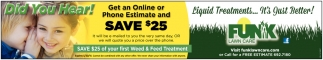 Get an Online Or Phone Estimate