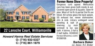 22 Lanoche Court, Williamsville