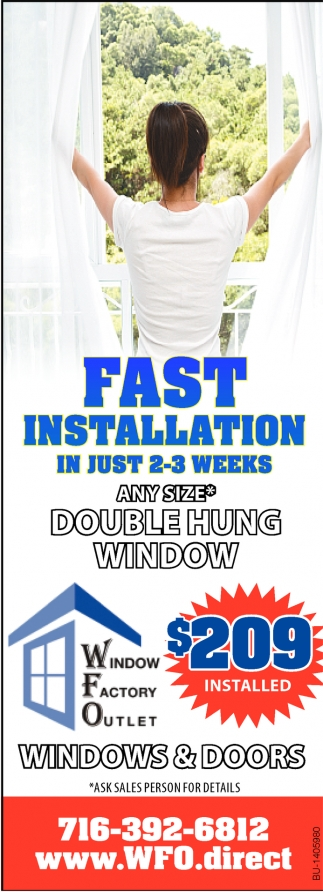 Fast Installation In Just 2-3 Weeks