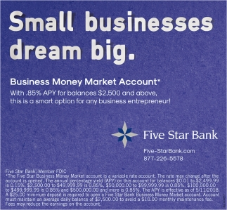 Small Businesses Dream Big