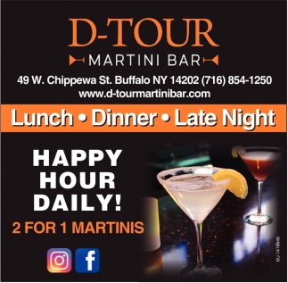 Happy Hour Daily!