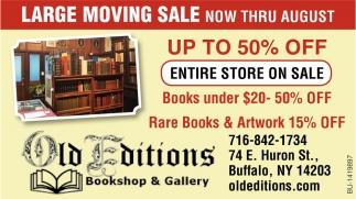 Large Moving Sale