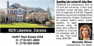 9529 Lakestone, Clarence