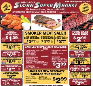 Specializing In Fresh Meat, Deli & Produce