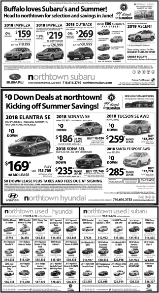 0$ Down Deals At Northtown!