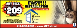Fast Installation In Just 2-3 Weeks!