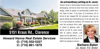 5151 Kraus Rd., Clarence
