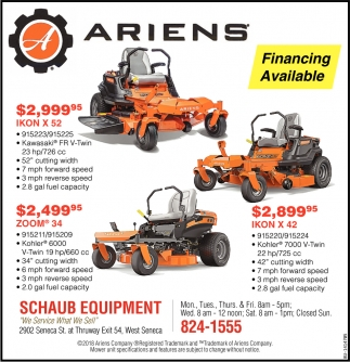 Schaub Equipment