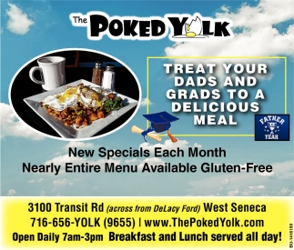 New Specials Each Month