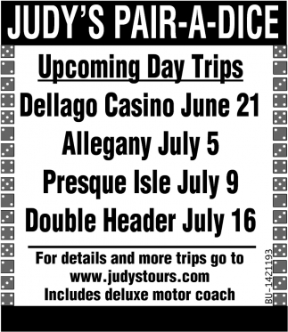 Upcoming Day Trips