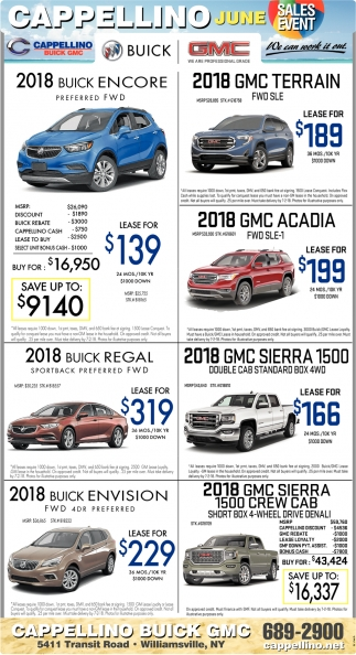 June Sales Event