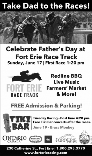 Take Dad To The Races!