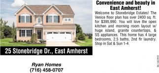 25 Stonebrigde Dr., East Amherst