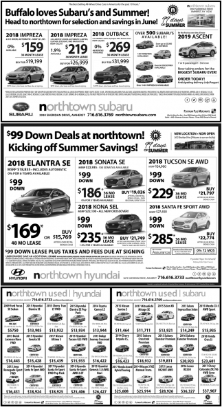 $99 Down Deals At Northtown!