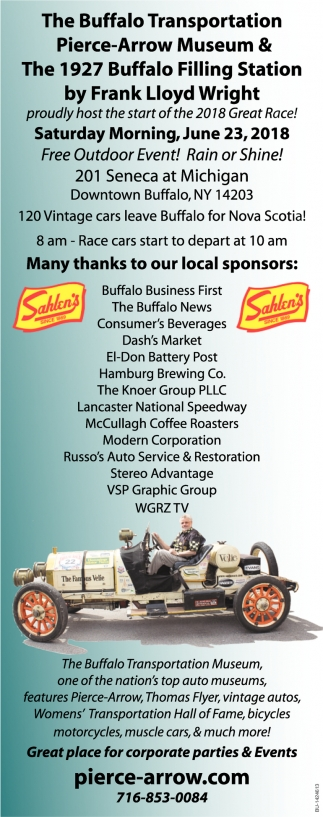 Many Thanks To Our Local Sponsors