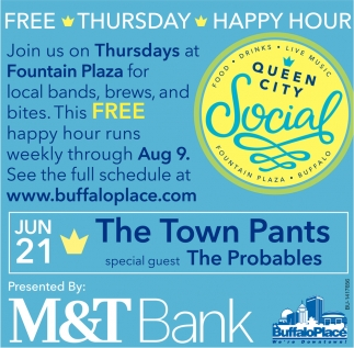 Free Thursday Happy Hour