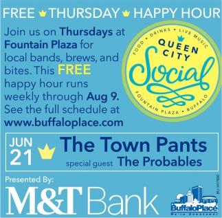 Free Thursday Happy Hour