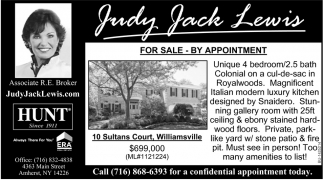 For Sale - By Appointment
