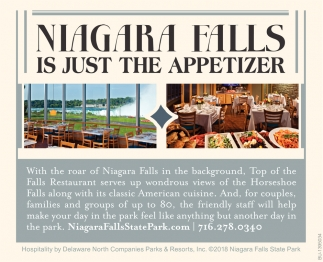 Niagara Falls Is Just The Appetizer