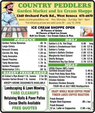 Ice Cream Shoppe Open
