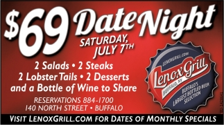 Date Night Saturday July 7th