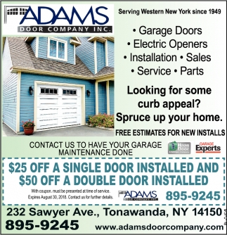 Free Estimates For New Installs