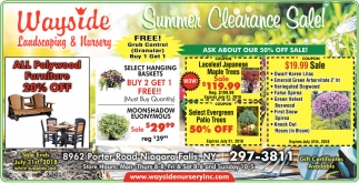 Summer Cleaning Sale!