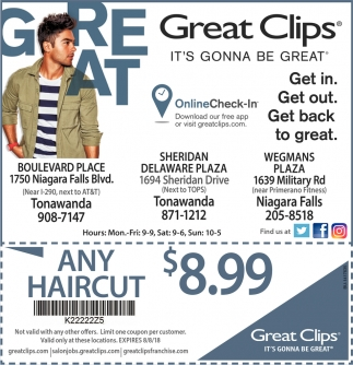 Get in Get Out Get Back To Great Great Clips