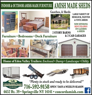 Indoor And Outdoor Amish-Made Furniture